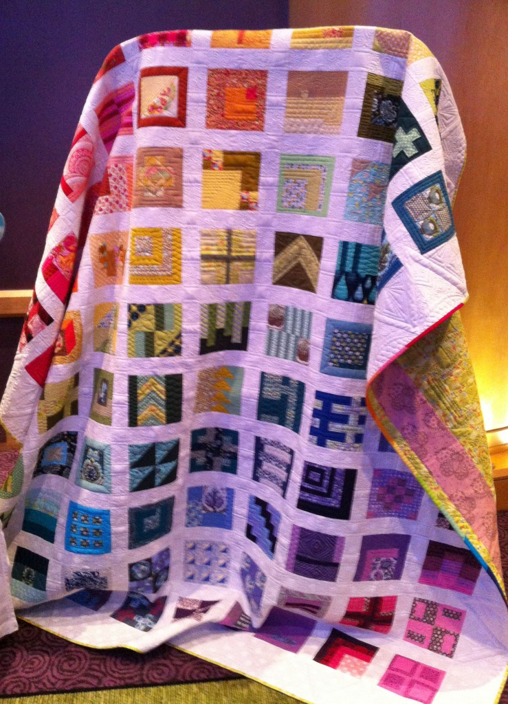 Tula Pink Gridlock quilt