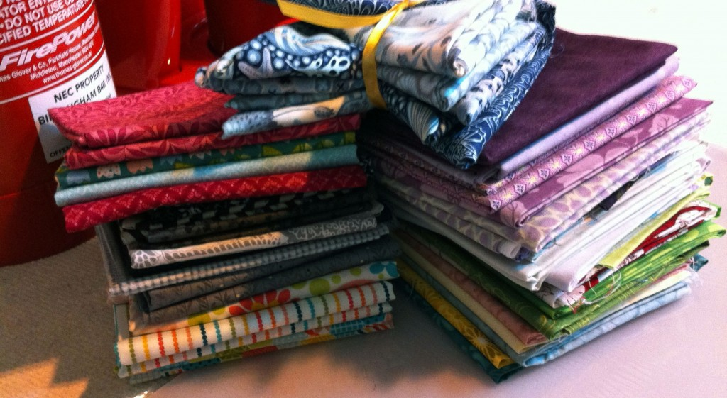 Festival of Quilts loot