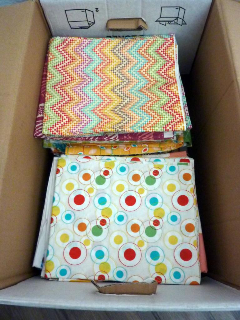 Box o'fabric.