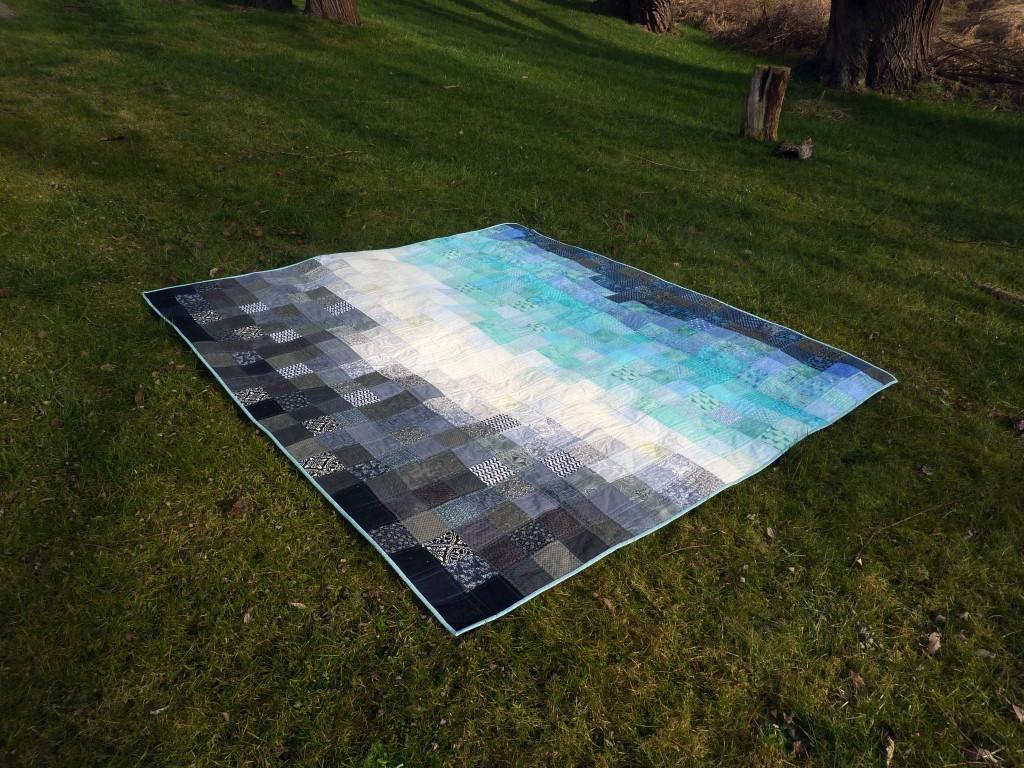 Totem's gradient quilt