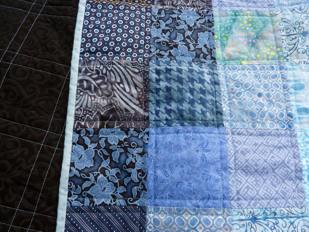 Straightish-line quilting