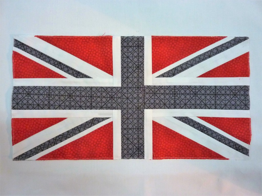 Union Jack block for Toni