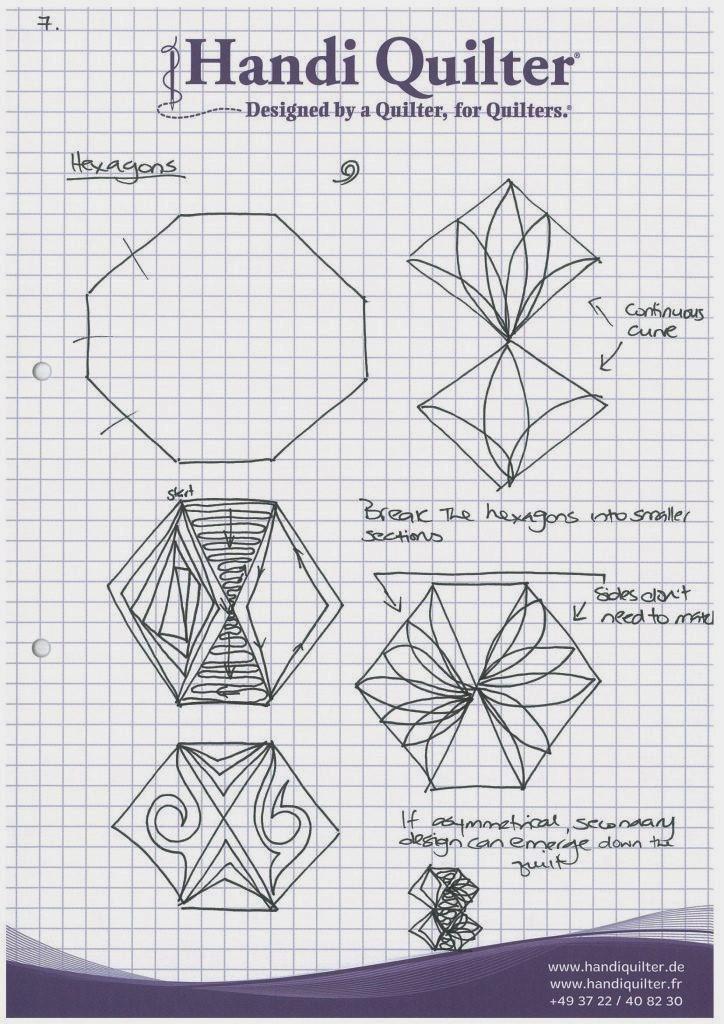 Angela-Walters-hexagon-quilting-practice