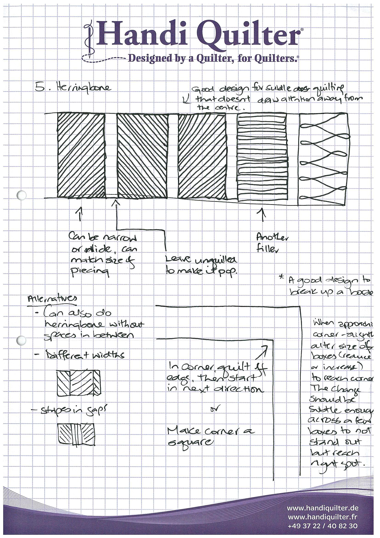 herringbone-border-quilting-design